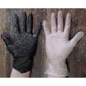 Jet Black Nitrile Gloves